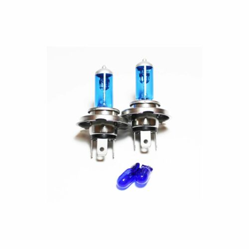 Daewoo Matiz 55w ICE Blue Xenon HID High//Low//Side Headlight Bulbs Set