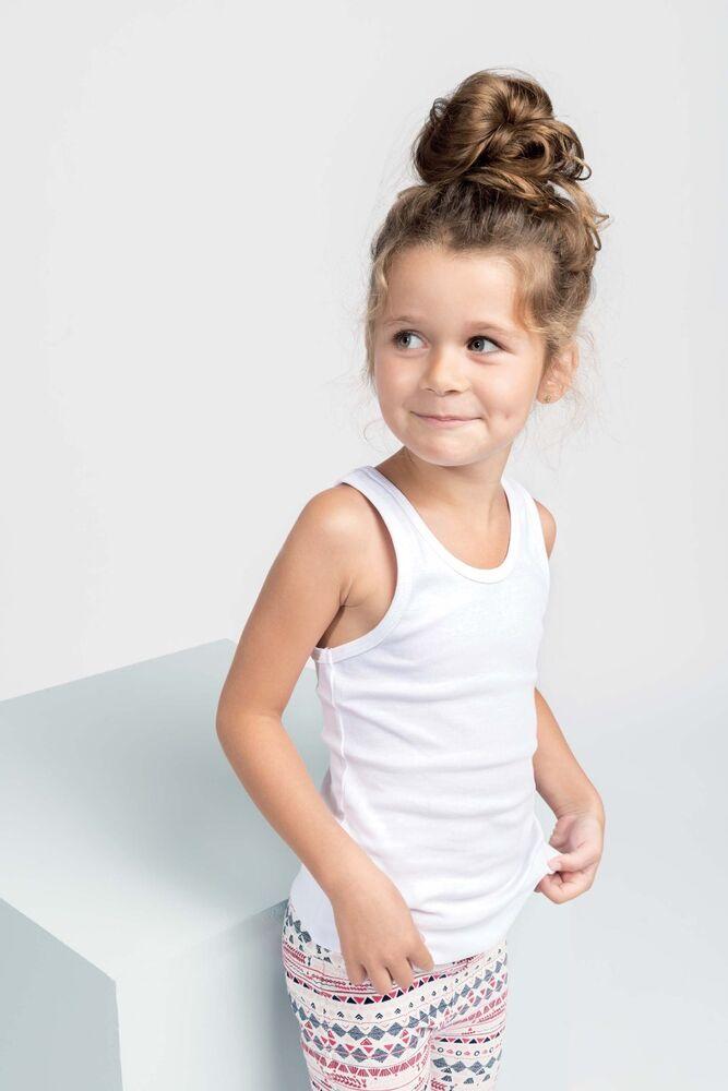 Brillant Boy's Filles 157 Unisexe Tank Top Gilet In Organic 100% Coton School Play Jersey Une Grande VariéTé De Marchandises