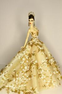 Gown-Outfit-Dress-Fashion-Royalty-Silkstone-Barbie-Doll-by-t-d-fashion-ooak