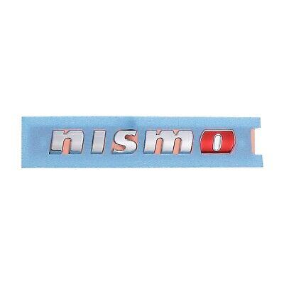 "Genuine Nissan Juke GT-R NISMO Model Rear Lift Gate /""NISMO/"" Emblem Red O NEW OEM"
