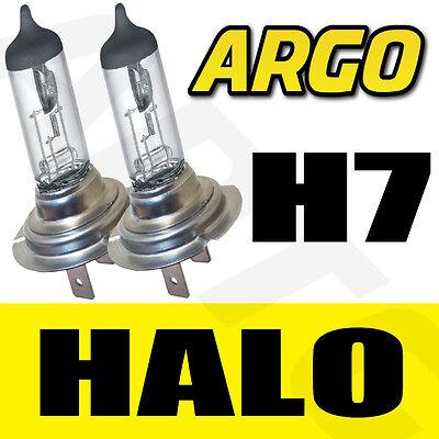 H7 HALOGEN 55W BULBS 12V MAIN BEAM HEADLIGHT HEADLAMP CLEAR LIGHT LAMP 499 X 2