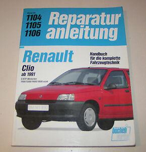 Reparaturanleitung-Renault-Clio-I-Typ-57-ab-1991