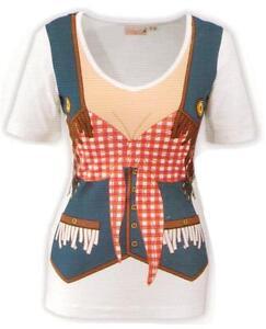 Cowgirlshirt-Fun-Shirt-Cowgirl-Wilder-Westen-Gr-S-Fasching-Karneval-Verkleidet