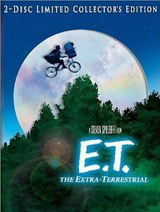 Brand-New-DVD-E-T-The-Extra-Terrestrial-Two-Disc-WS-Limited-Collector-039-s-Edition