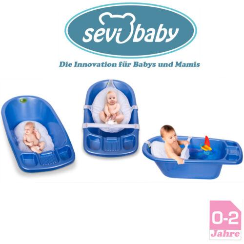 Baby BadeNetz Multi-Funktionales Waschnetz Einlage Sevibaby Badewannensitz Weiß