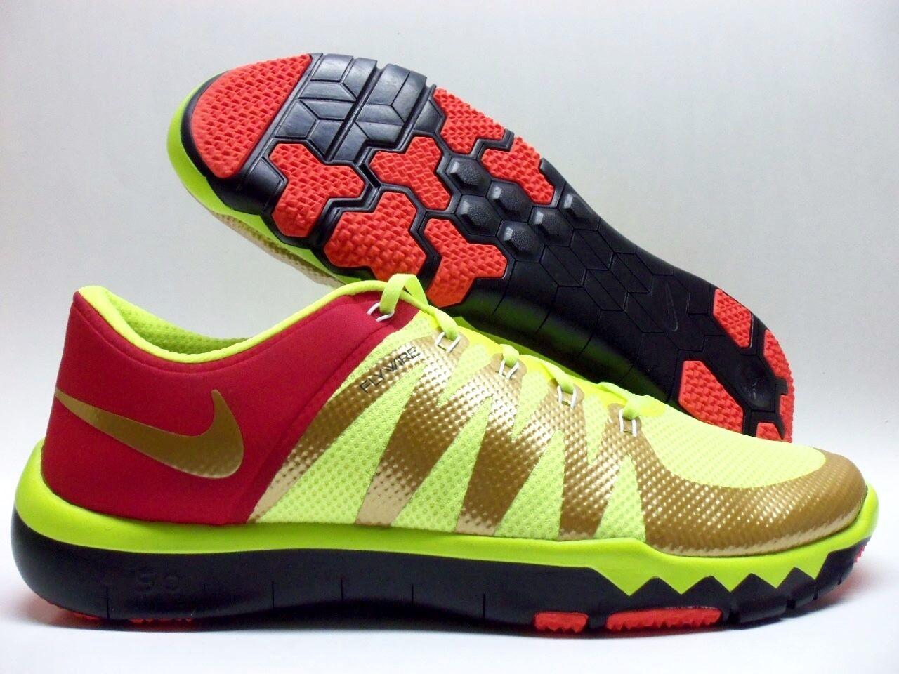 Nike libera 5,0 tr id volt / gold-gym dimensioni metallico red-nero dimensioni gold-gym uomini 15 - 803218-991] 4ae4cf