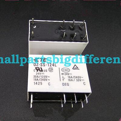 OZ-SS-124L Power Relay 20A 24VDC 8 Pins x 10pcs