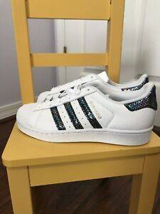 adidas superstar j metallic