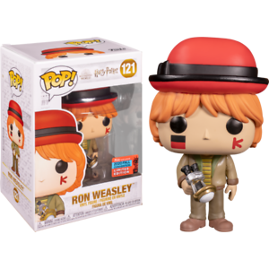 PREORDER RON AT WORLD CUP EXCLUSIVE NYCC 2020 HARRY POTTER FUNKO POP FIGURE