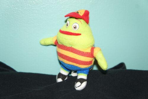 "4/"" Mini-Melts Kid Mucinex Plush Stuffed Character Mucinex Man"