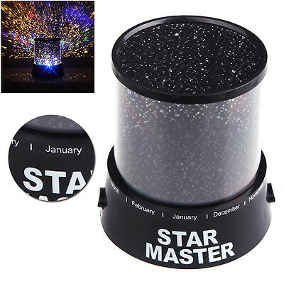 Romantic LED Starry Night Sky Projector Lamp Kids Gift Star light Cosmos Master