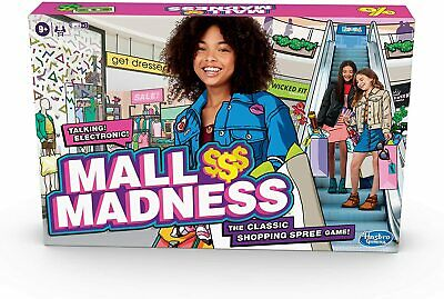 Talking Electronic Shopping Spree Board Game New for 2020! Mall Madness Game