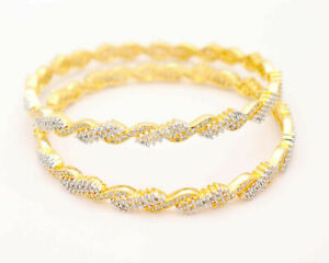 Indian-Wedding-CZ-Bangles-Party-Wear-Gold-Plated-Ethnic-High-Quality-Bridal-Set