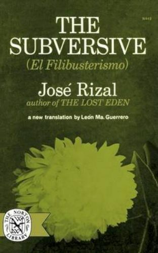 1 of 1 - Subversive (El Filibusterismo)-ExLibrary