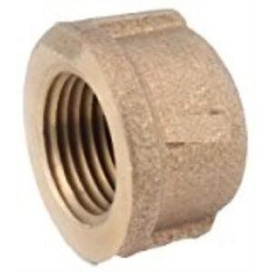 "ANDERSON METALS 738108-02 1/8"" Brass Pipe Cap"