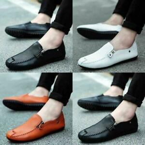 Men-Leather-Shoes-Driving-Lazy-Slip-on-Breathable-Casual-Comfy-Loafers-Moccasin