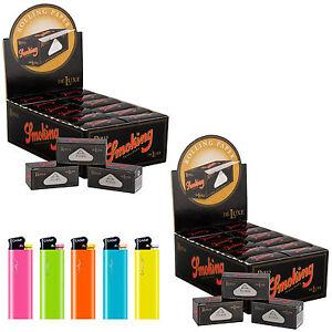 Cartine SMOKING ROLLS DE LUXE LUNGHE 48 pacchetti Cartine King Size ROTOLO 2 Box NWX5TONR-09154752-483314087
