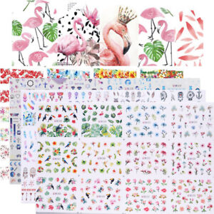 12pcs-in1-Flower-Water-Transfer-Nail-Art-Stickers-Adesivi-Decorazione-Per-Unghie
