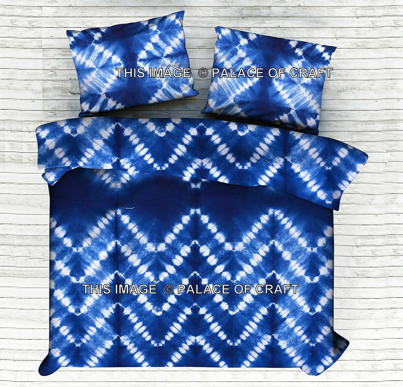Indian Shibori Duvet Cover King Size Doona Cover Queen Quilt Cover Bedding Throw