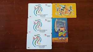 Details about Vintage Singapore phone cards - Sea Games and Sports