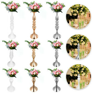 Flower-Rack-for-Wedding-Metal-Candle-Stand-4-11pcs-Centerpiece-Flower-Vase