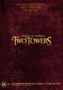 The-Lord-Of-The-Rings-The-Two-Towers-Extended-Edition-2-Disc-Set-DVD-NEW
