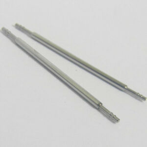 2-x-THIN-1mm-WATCH-SPRING-BARS-PINS-HIGH-QUALITY-STEEL-Sizes-6-22mm