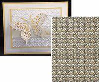 Spellbinder 3d Embossing Folders Cane Weave E3d-011 M-bossabilities 5 X 7
