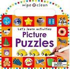 Wipe Clean: Picture Puzzles by Roger Priddy (Board book, 2015)