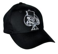 Ace of Spades Death Skull Hat Baseball Cap Alternative Clothing Motorhead Top
