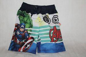 Marvel Avengers Swim truck ( Size 7 Boys NWT)