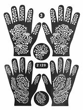✔ Z3 Henna Schablone Kina Tattoo Paste dövme Bollywood body paint Stift vorlage