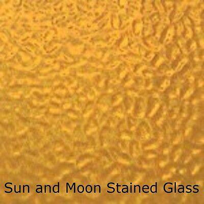 by BiNARi Glass Studio English Muffle Wissmach Stained Glass Sheet: Pale Yellow Green 8x12-1 Sheet