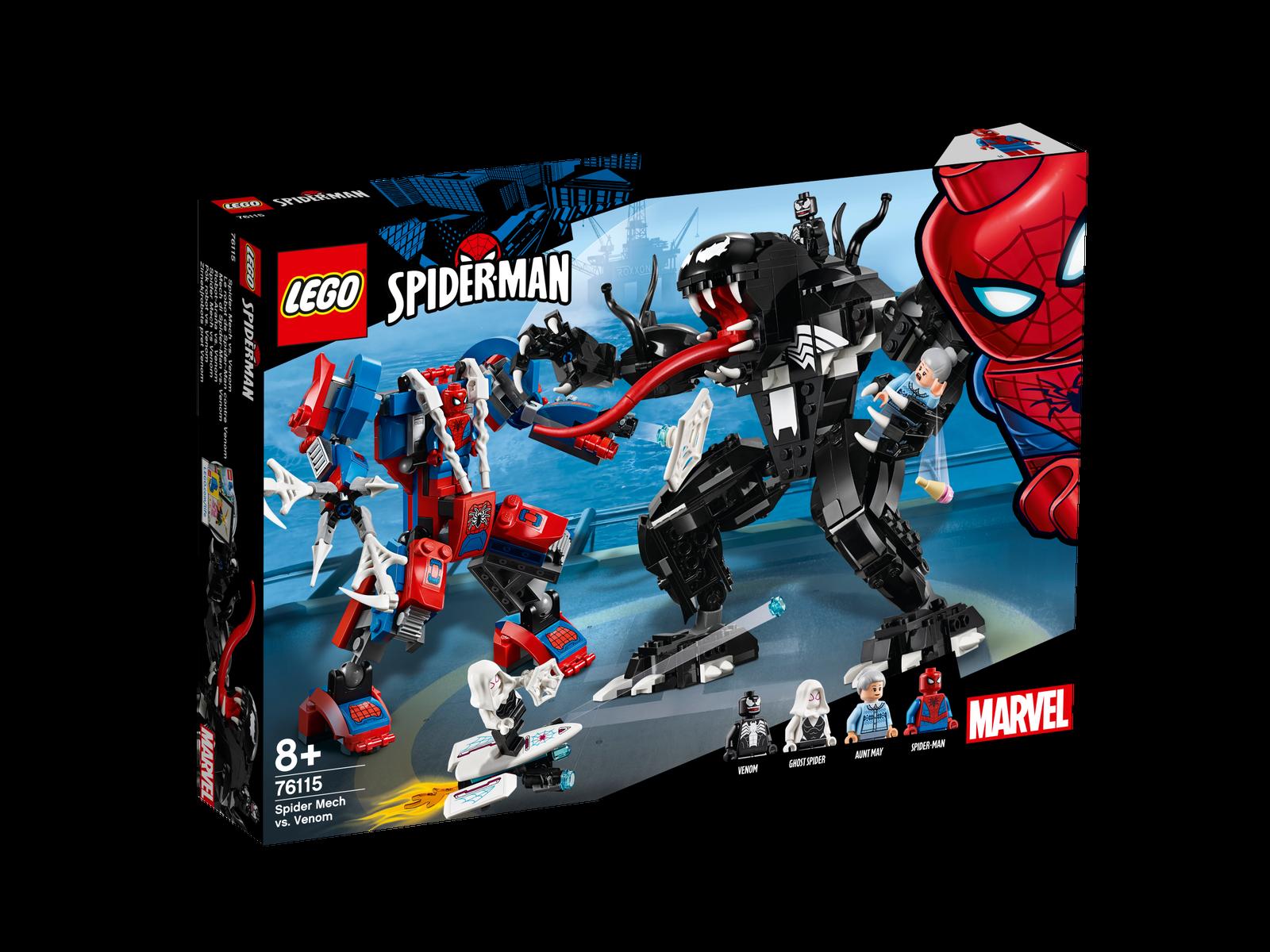 LEGO  ® MARVEL SUPER HEROES 76115 SPIDER Mech vs. Venom NUOVO OVP _ nuovo MISB NRFB  l'ultimo
