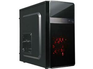 DIYPC MA01-R Black SECC Micro ATX Mini Tower Computer Case