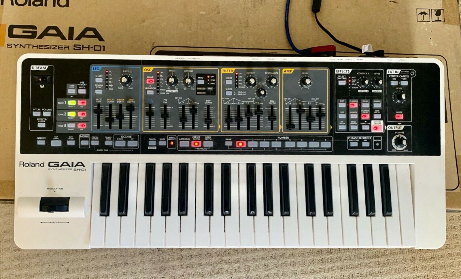 Roland Gaia Synthesizer Sound Designer Software For Sale Ebay