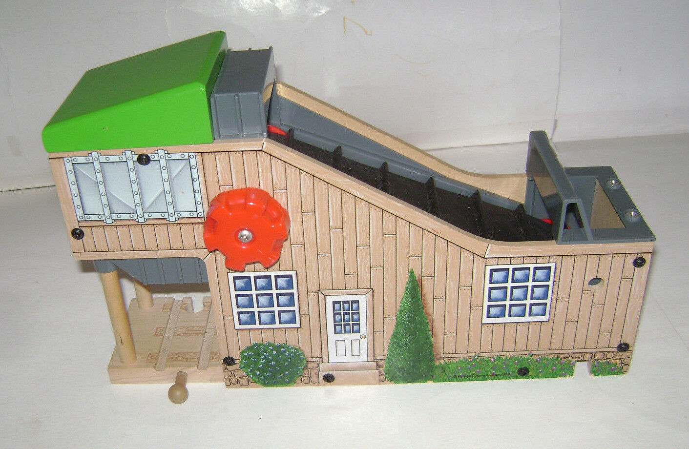 Thomas Friends Wooden Railway Train Tank Coal Station Cargo Loader Conveyor Belt