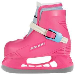 b20b4395d5 Image is loading Bauer-Lil-Angel-Girls-Toddler-Hockey-Skates-Girls-