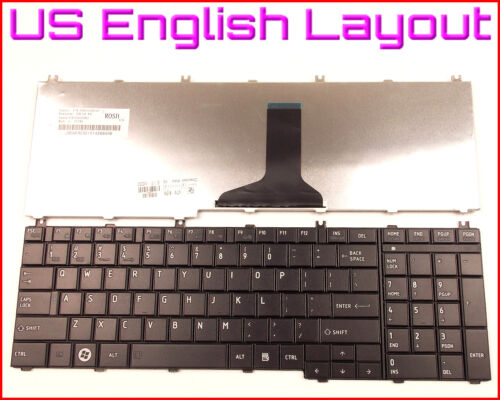 New Laptop US Keyboard for Toshiba Satellite C655-S5132 C655-S5142 C655-S5208
