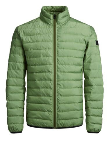 Jacket And Green Zip Top Men L Jack Jones Jjechicago Puffer M Winter s Xxl Xl S 4HnBCwq1