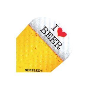 I Love Beer Dimplex Dart Flights Flights 3 per set