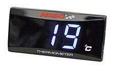 KOSO Super Slim schwarz Thermometer f. Öl- oder Wassertemperaturanzeige
