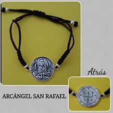 PULSERA ARCANGEL SAN RAFAEL SILVER PLATA LEY 925 ARCHANGEL SAN RAPHAEL  BRACELET