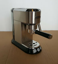 delonghi ec680 dedica 15bar pump espresso and cappuccino maker stainless steel