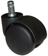 Item 8 Chair Casters Twin Wheel Rollers 5 Pc Set Universal Ch 55