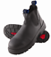 Steel-Blue-Hobart-Black-Elastic-Sided-Pull-On-Non-Safety-Boot-310101-NEW-IN-BOX
