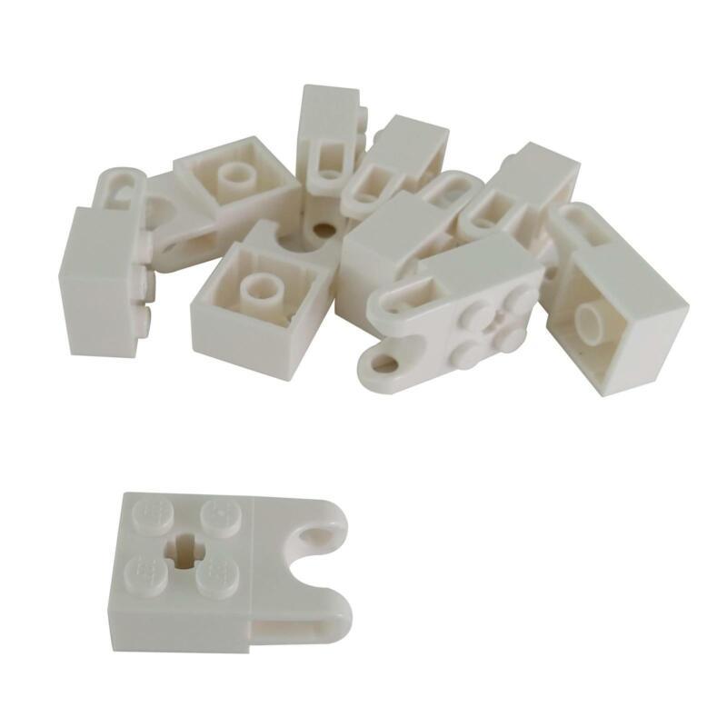 New LEGO Lot of 10 White 2x2 Bricks