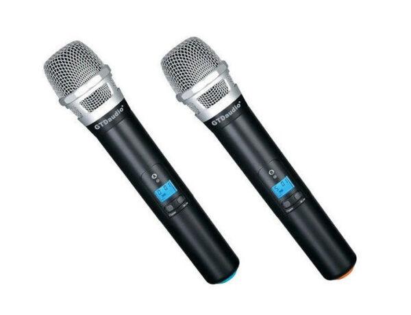 Aokeo Wireless Handheld Microphone : gtd g 622h handheld wireless professional microphone ebay ~ Hamham.info Haus und Dekorationen