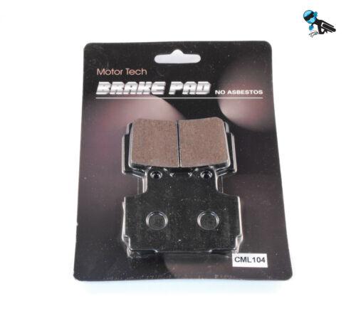"""SB Rear Brake Pads Yamaha FZR 400 RR /""""3TJ1/"""""""