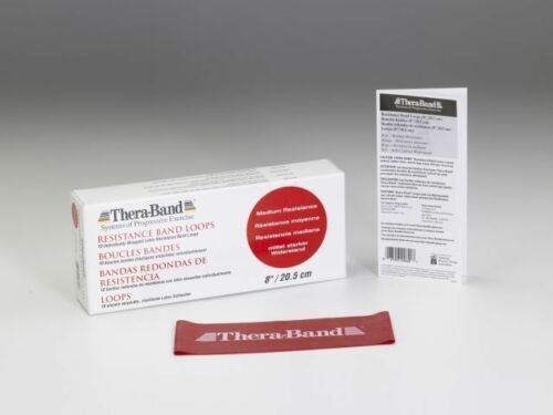 training ringband theraband rouge Thera-Band ® Loop 7,6cm x 40,5cm